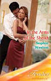 In The Arms of The Sheikh - UK cover