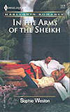 In The Arms of The Sheikh - US cover